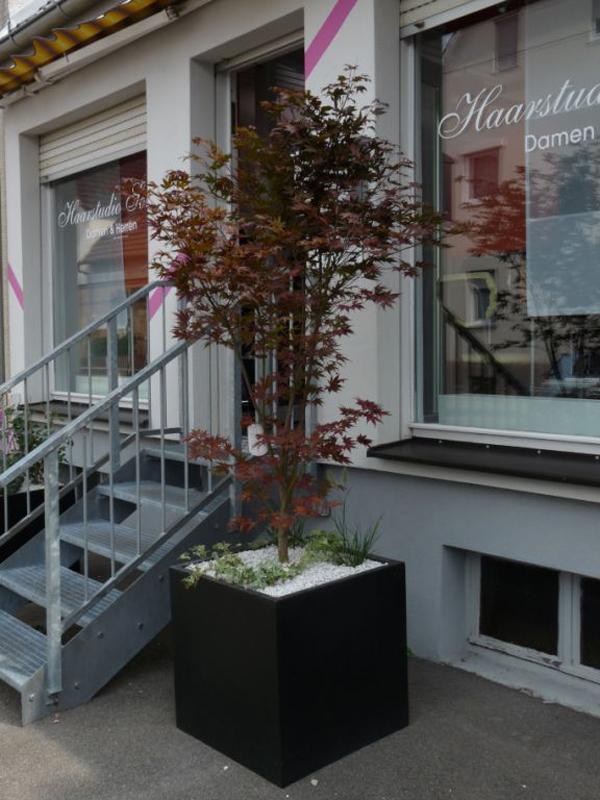 Eingangsbereiche vor Geschäften