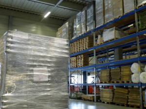 Das neue Auslieferungslager für Pflanzkübel: modern – geräumig – effizient
