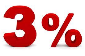 Ab jetzt: 3% skonto auf alle Käufe per Vorkasse
