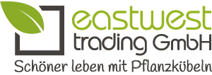 Eastwest Logo - Schoener leben mit Pflanzkuebeln