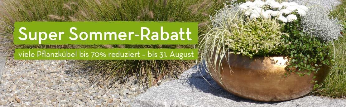 Super Sommer-Rabatt: Viele Pflanzkübel reduziert