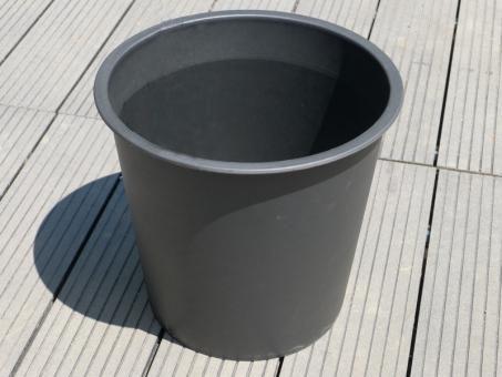 2er-Set runde Pflanzeinsätze Ø36x H32cm aus KUNSTSTOFF