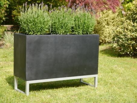 Untergestell für Pflanztröge 80cm, zur besseren Präsentation 80x30x15