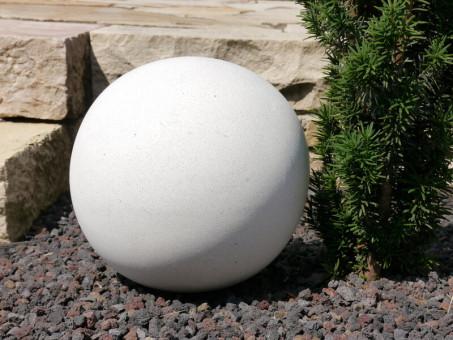 Dekokugel in weiß Ø20x20 cm