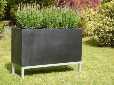 Untergestell für Pflanztröge, zur besseren Präsentation 80x30x15