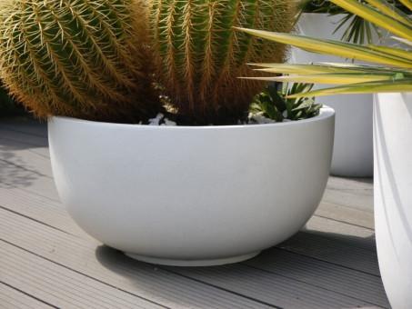 Pflanzschale VIVA, weiß Ø50x25 cm