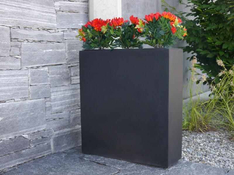 raumteiler divido aus fiberglas in schwarz anthrazit bei east west trading. Black Bedroom Furniture Sets. Home Design Ideas