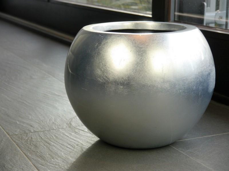 Hochglanz Pflanzkübel silber & bronze online kaufen   EAST WEST ...