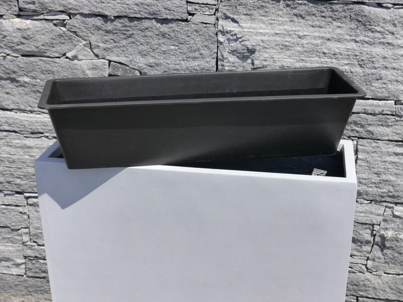 Raumteiler divido aus fiberglas in betongrau bei east - Fiberglas eigenschaften ...