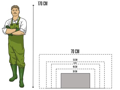 ANGEBOT 2er-SET: Pflanzkübel 80x30x40cm, Fiberglas edel-schwarz ...