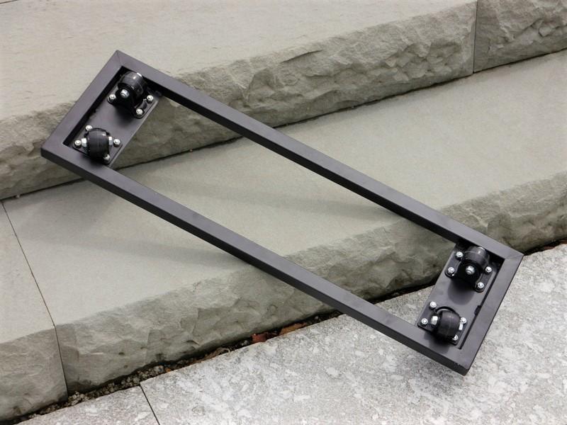 Pflanztrog f r rollen aus fiberglas in schwarz anthrazit - Fiberglas eigenschaften ...