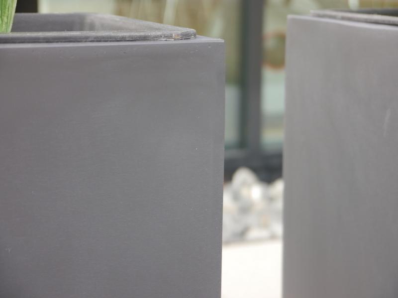 Raumteiler divido aus fiberglas in anthrazit bei east for Fiberglas eigenschaften